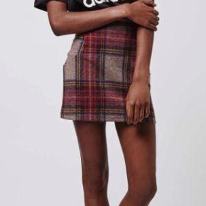"""TOPSHOP """"Tartan"""" Skirt"""